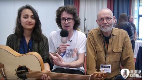 Interview guitariste Jacky Bastek et luthier Jacky Walraet sur le EGB Community Build