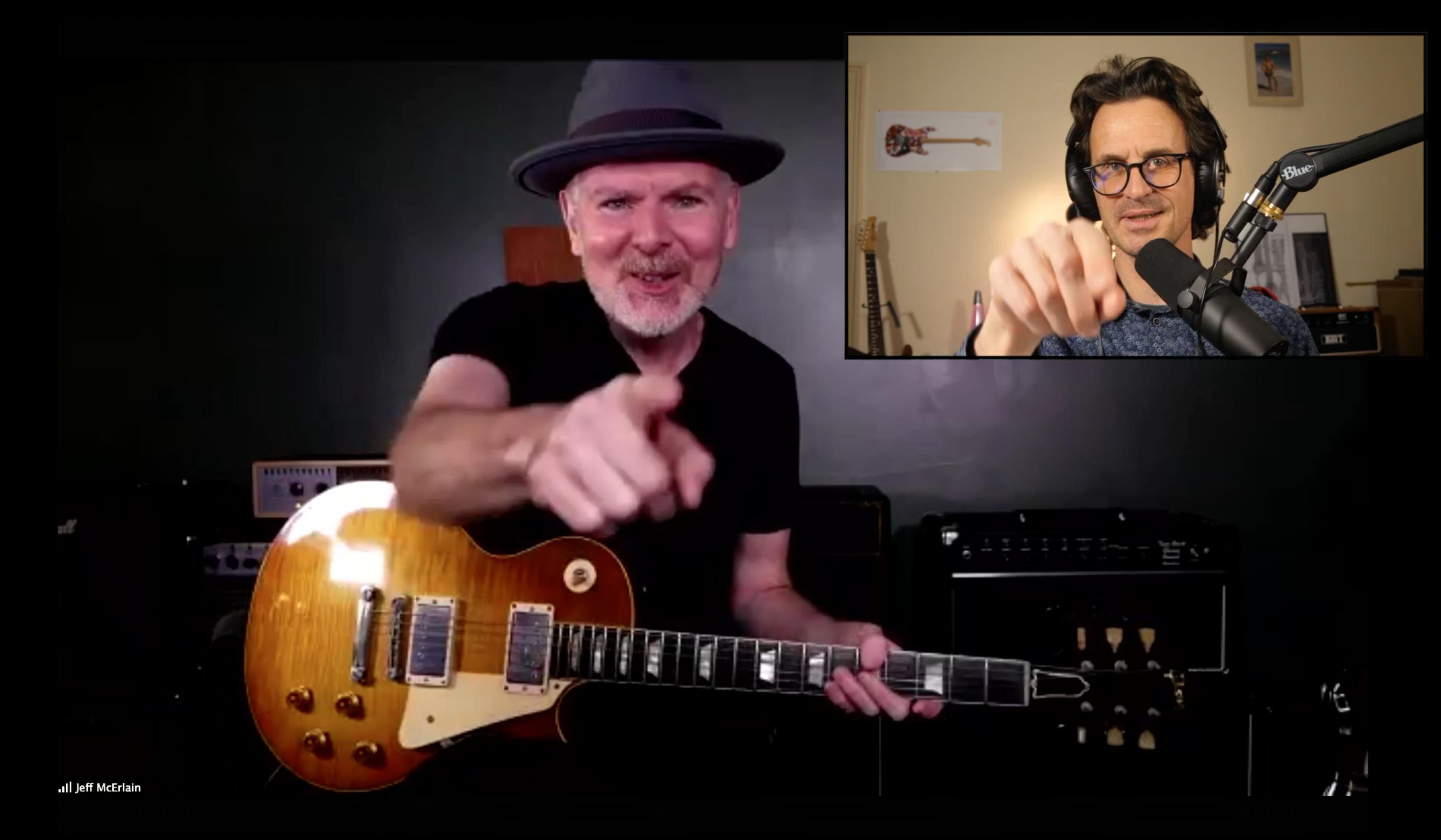 Jeff McErlain, interview guitare à la main avec le sideman de Robben Ford