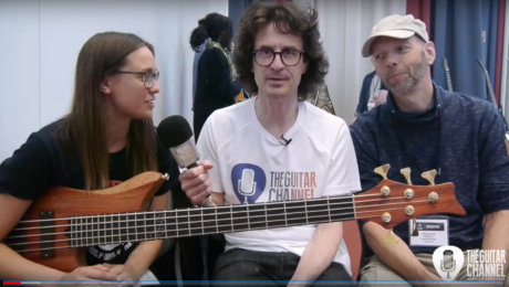 Bassiste Julia Hofer et luthier Ferdinand Rikkers en interview - EGB Community Build