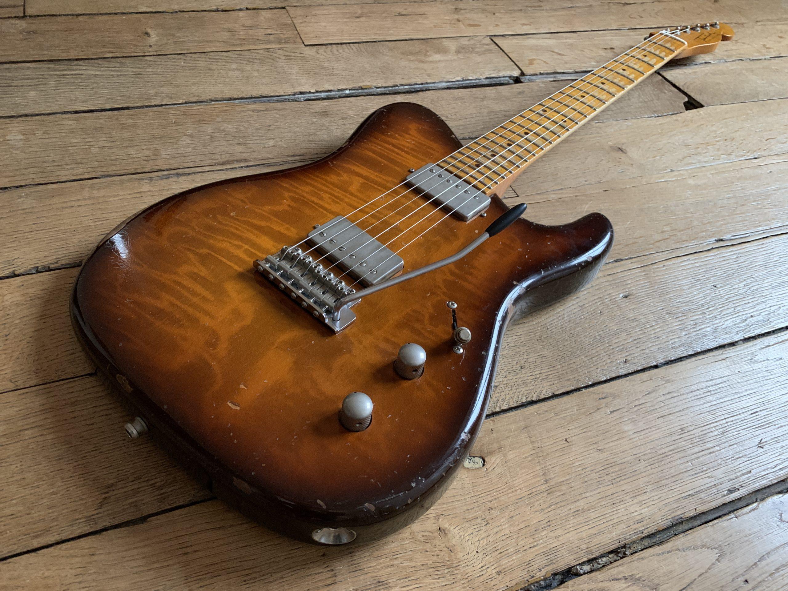 En vedette au showroom : Tausch Guitars modèle 665 Raw Deluxe