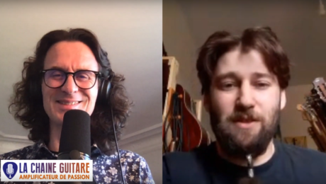 Thibaud Mignon luthier à côté de Epernay en interview confinement