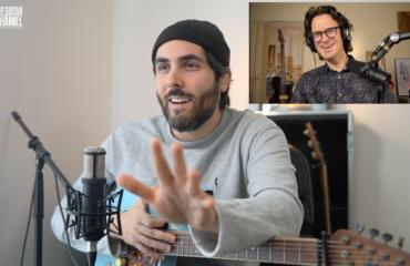 Ariel Posen interview guitare à la main avec le musicien canadien