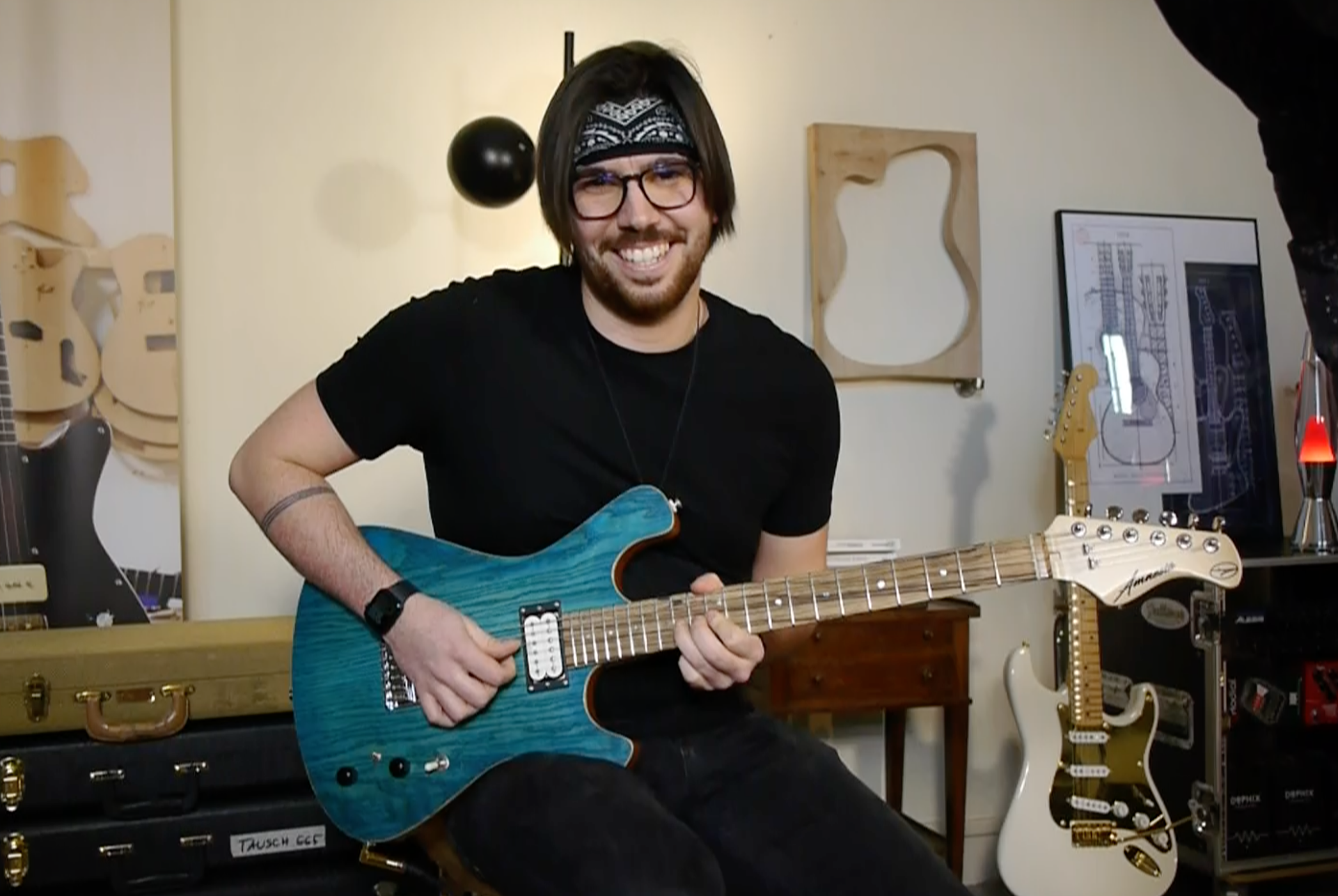 Tanguy Kerleroux interview express d'un guitariste instrumental sur Internet