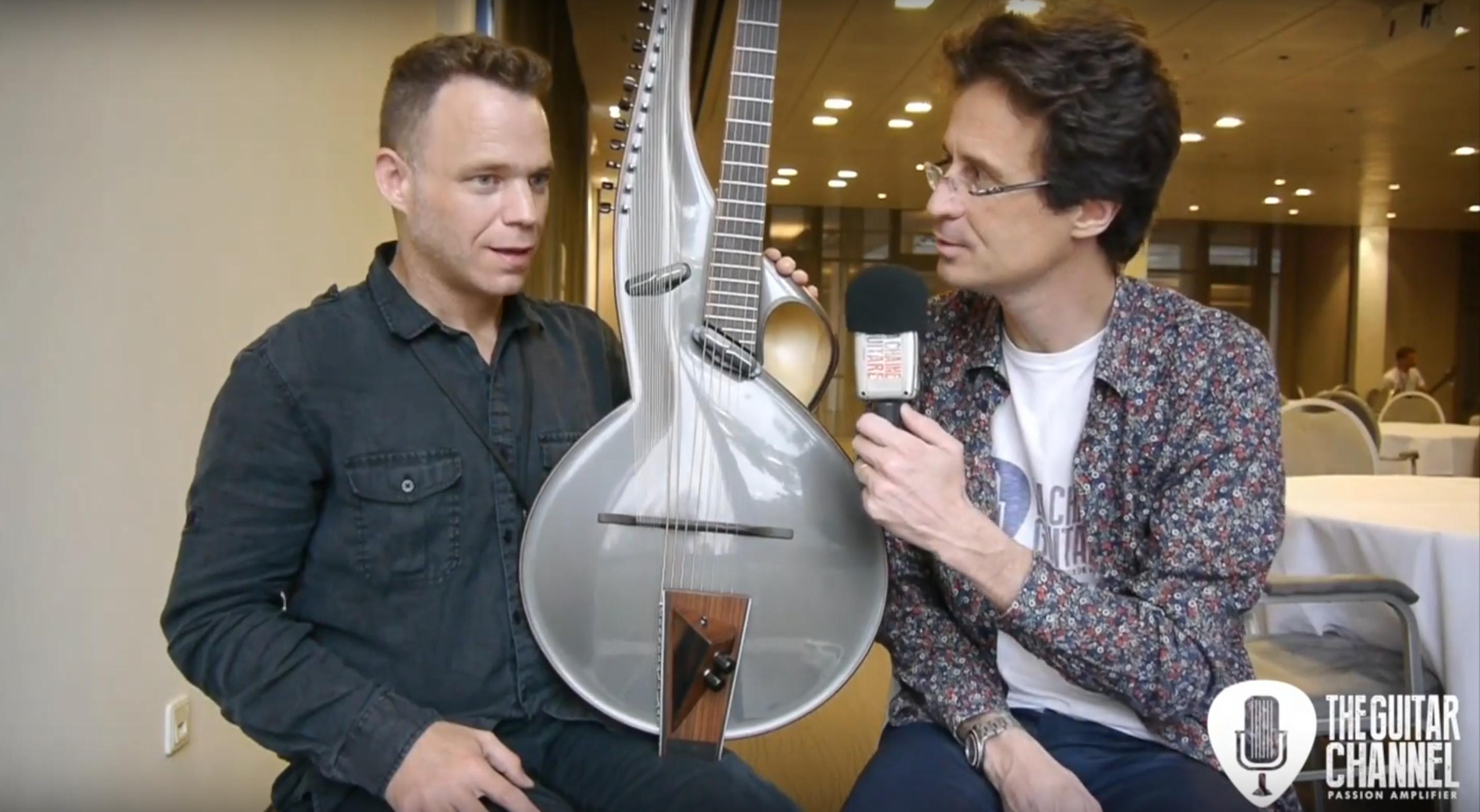 Thierry André, interview d'un luthier très original au Holy Grail Guitar Show