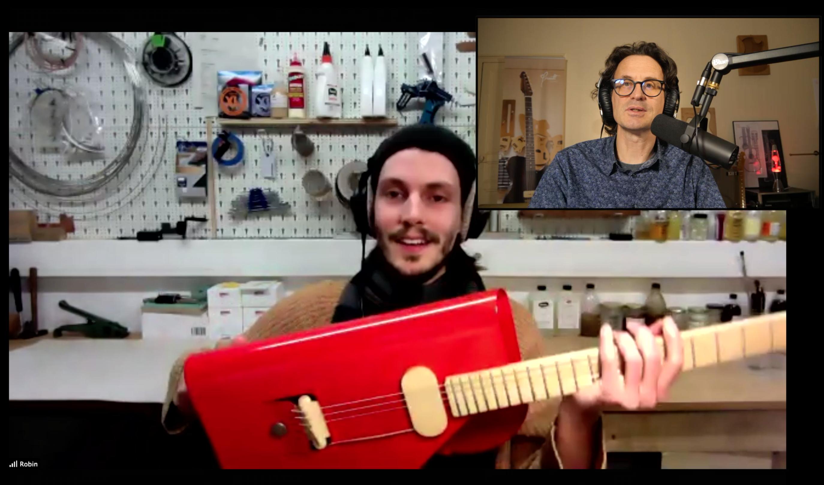 Verso Instruments, interview en direct avec le luthier allemand Robin Stummvoll