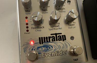 UltraTap Eventide, une pédale de délai numérique stéréo de grande classe