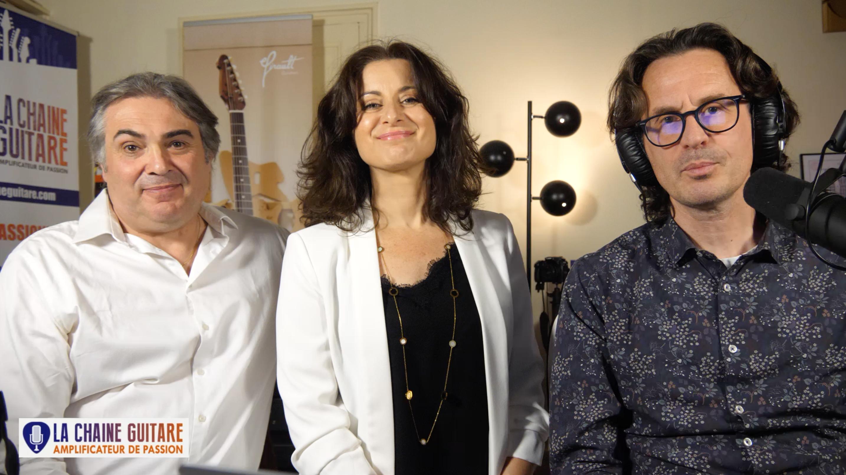 Laurence M et Joël Gombert interview à chaud après leur concert au showroom