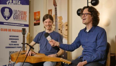 Nicolas Gigant, interview guitare et Weissenborn à la main !
