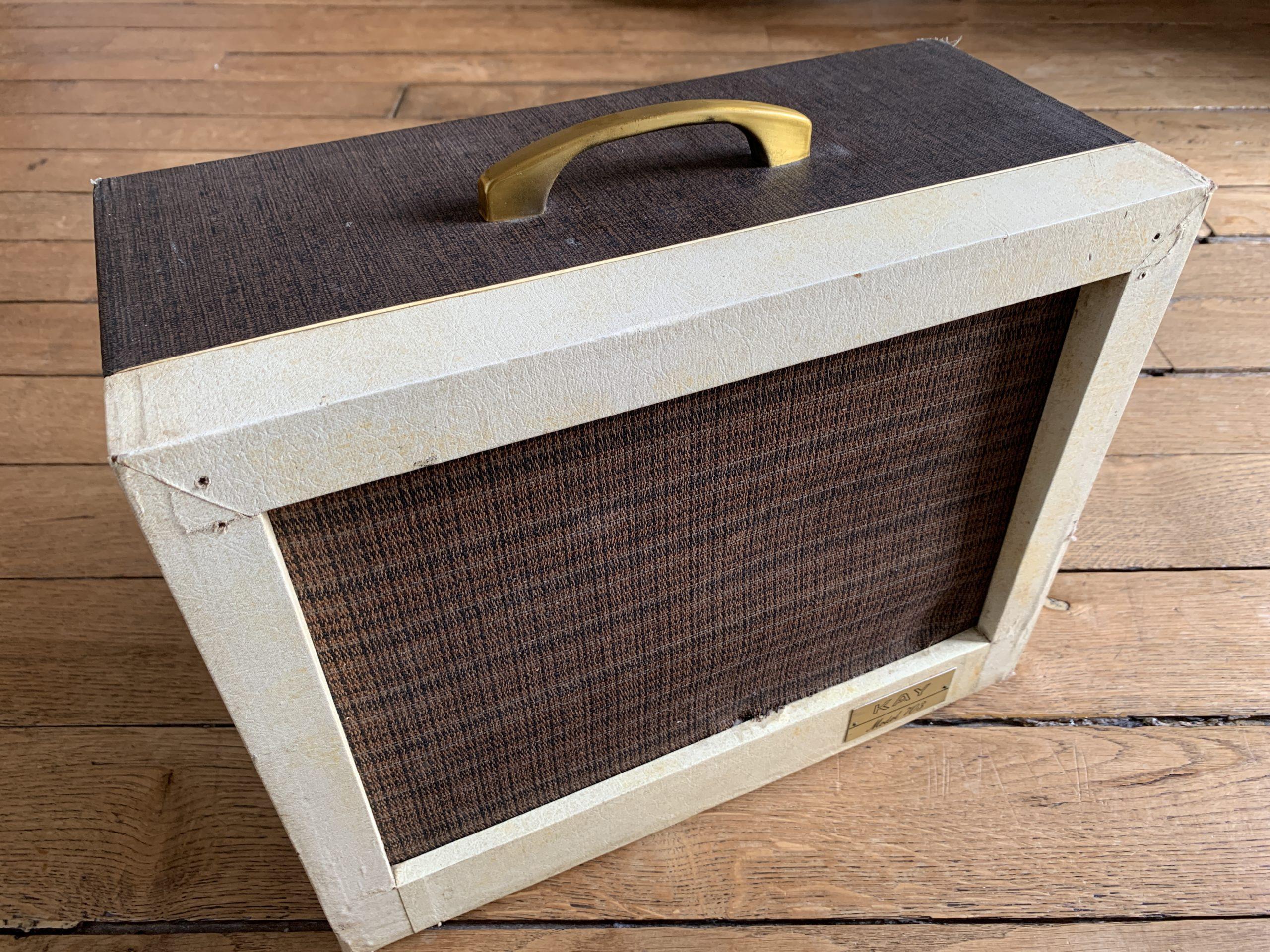 Ampli Kay 703 de 1962 : un nouvel ampli à lampes Vintage au showroom !
