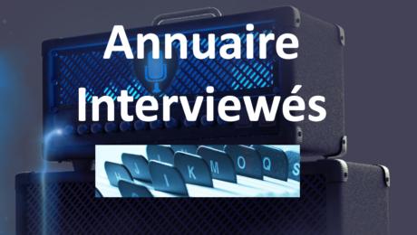 Annuaire des interviewés de La Chaîne Guitare : première version en ligne !