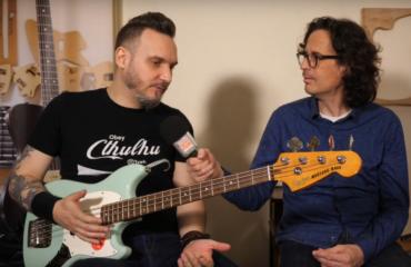 Squier Mustang Bass, prise en main par le bassiste François C. Delacoudre