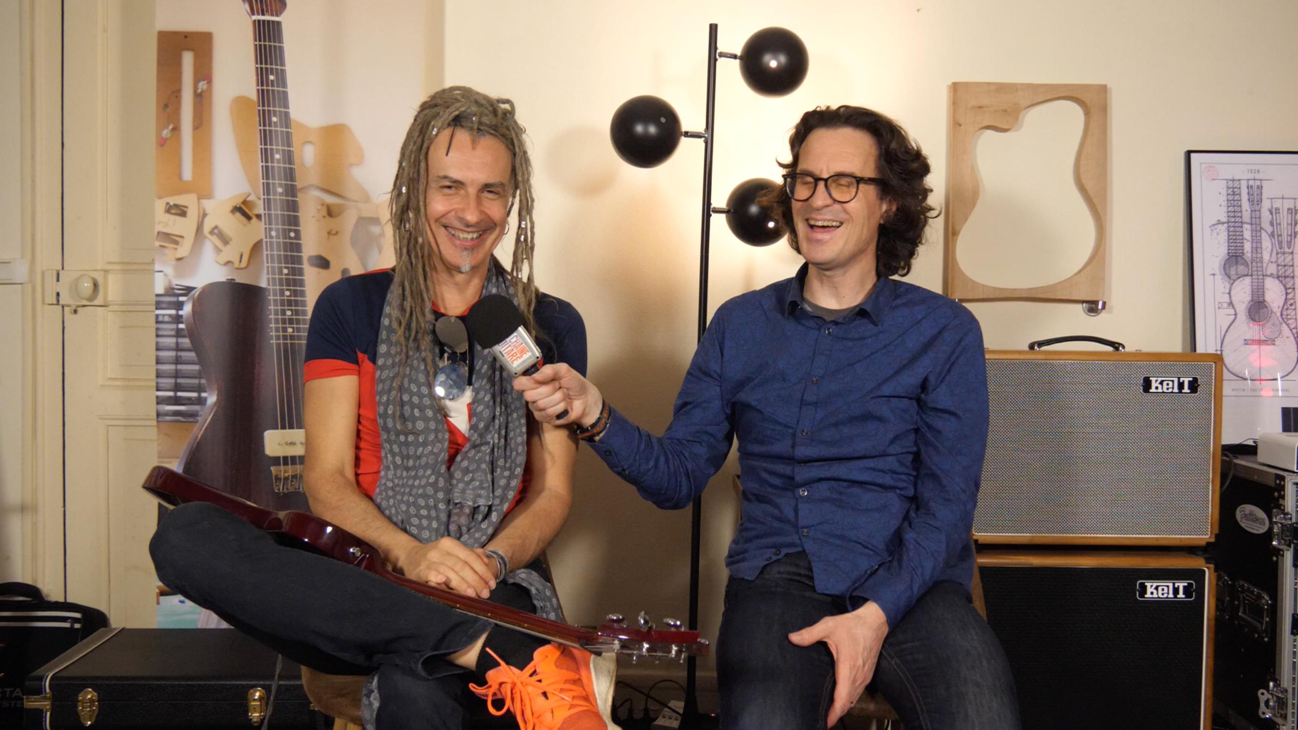 JC Maillard, interview guitare à la main du musicien franco-américain