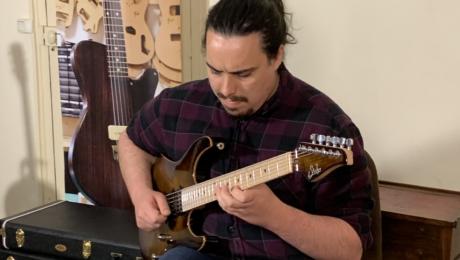 Marwan Boulaïd, interview guitare à la main avec ce musicien étudiant à Berklee