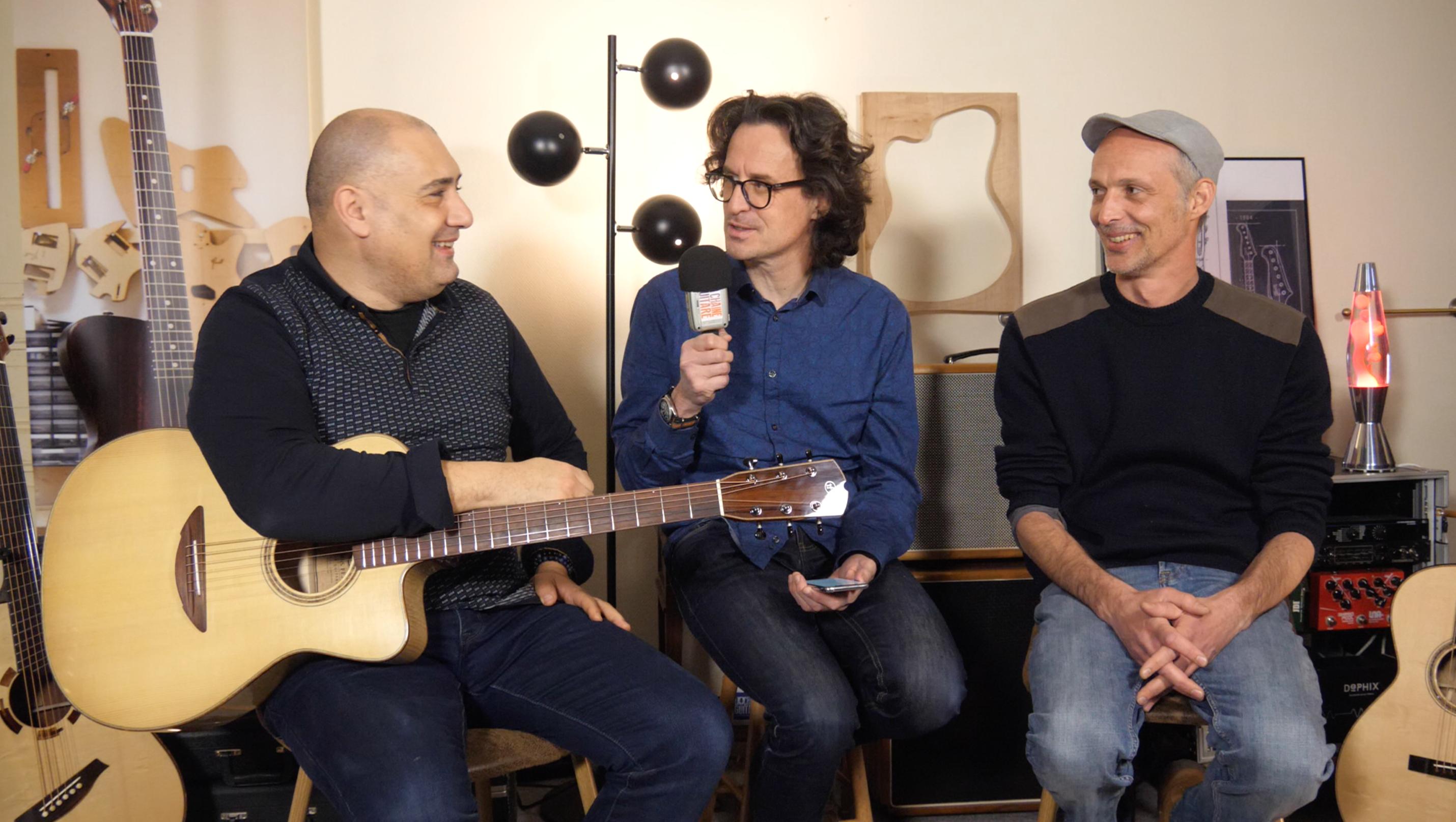 François Sciortino et Thomas Fejoz, interview Un Musicien et Son Luthier