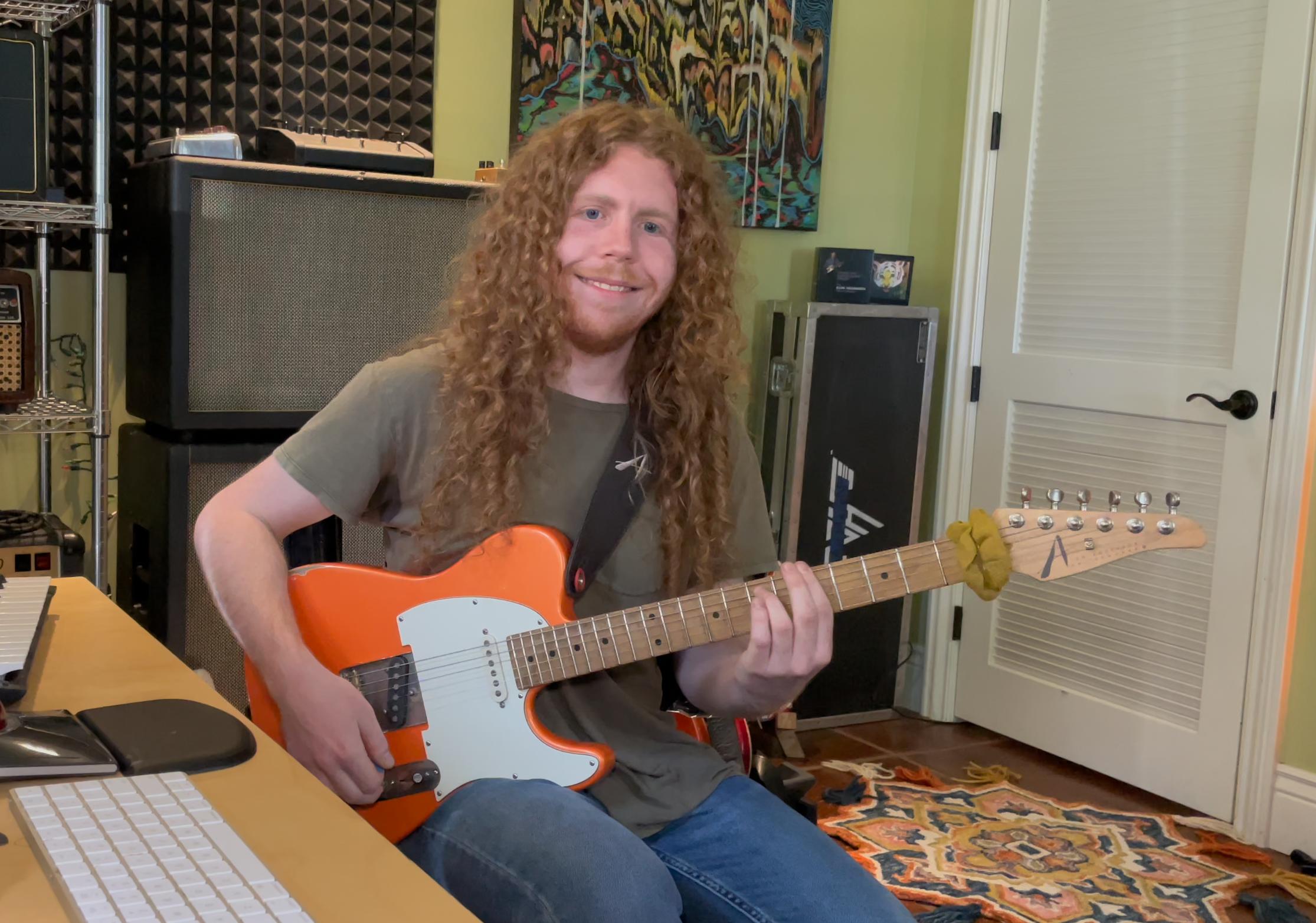 Sean Ashe, interview guitare à la main avec ce talentueux musicien américain