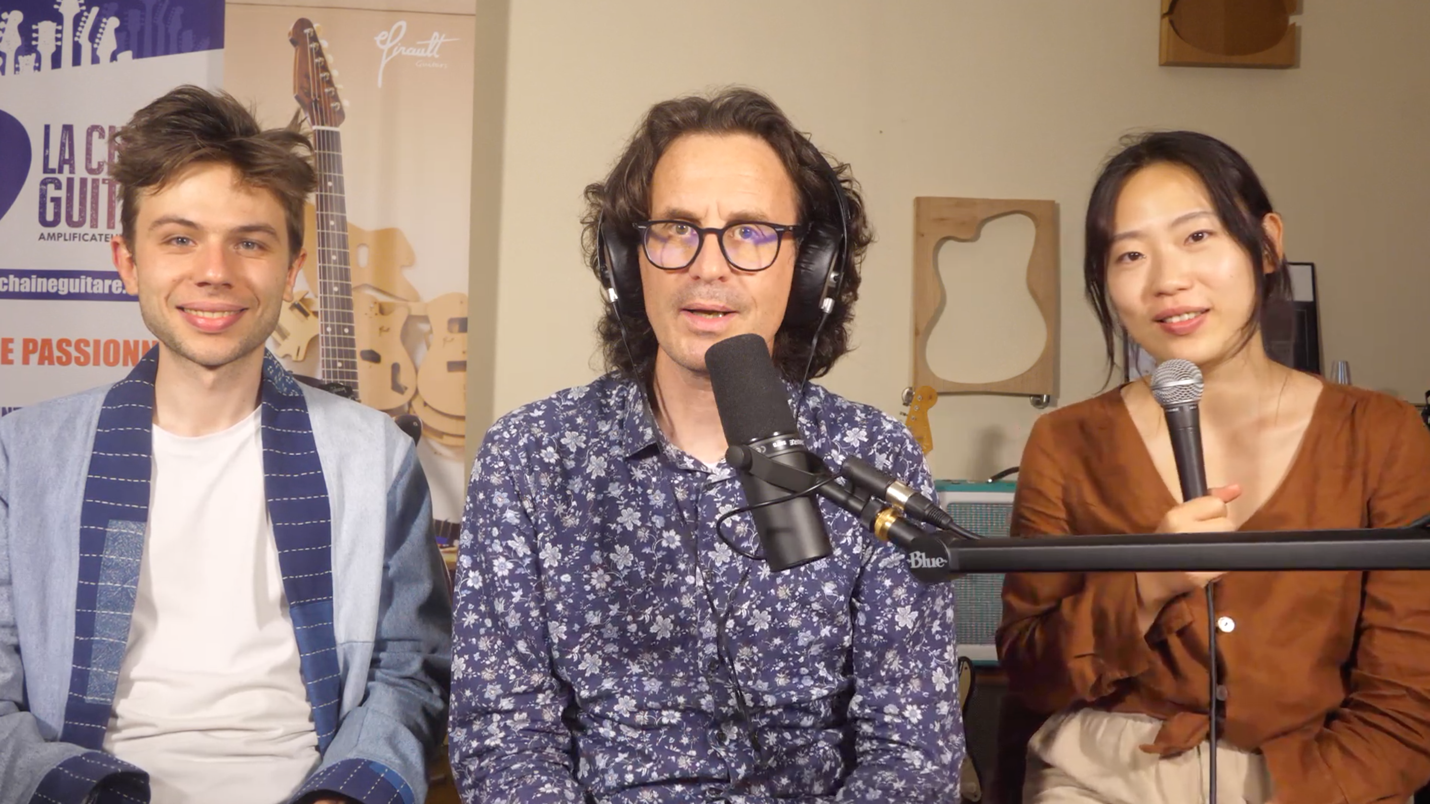 Yeore Kim et Antoine Boyer, interview suite à leur concert en direct du showroom