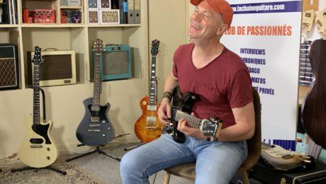 Chris Rime, interview guitare à la main pour présenter son nouvel album