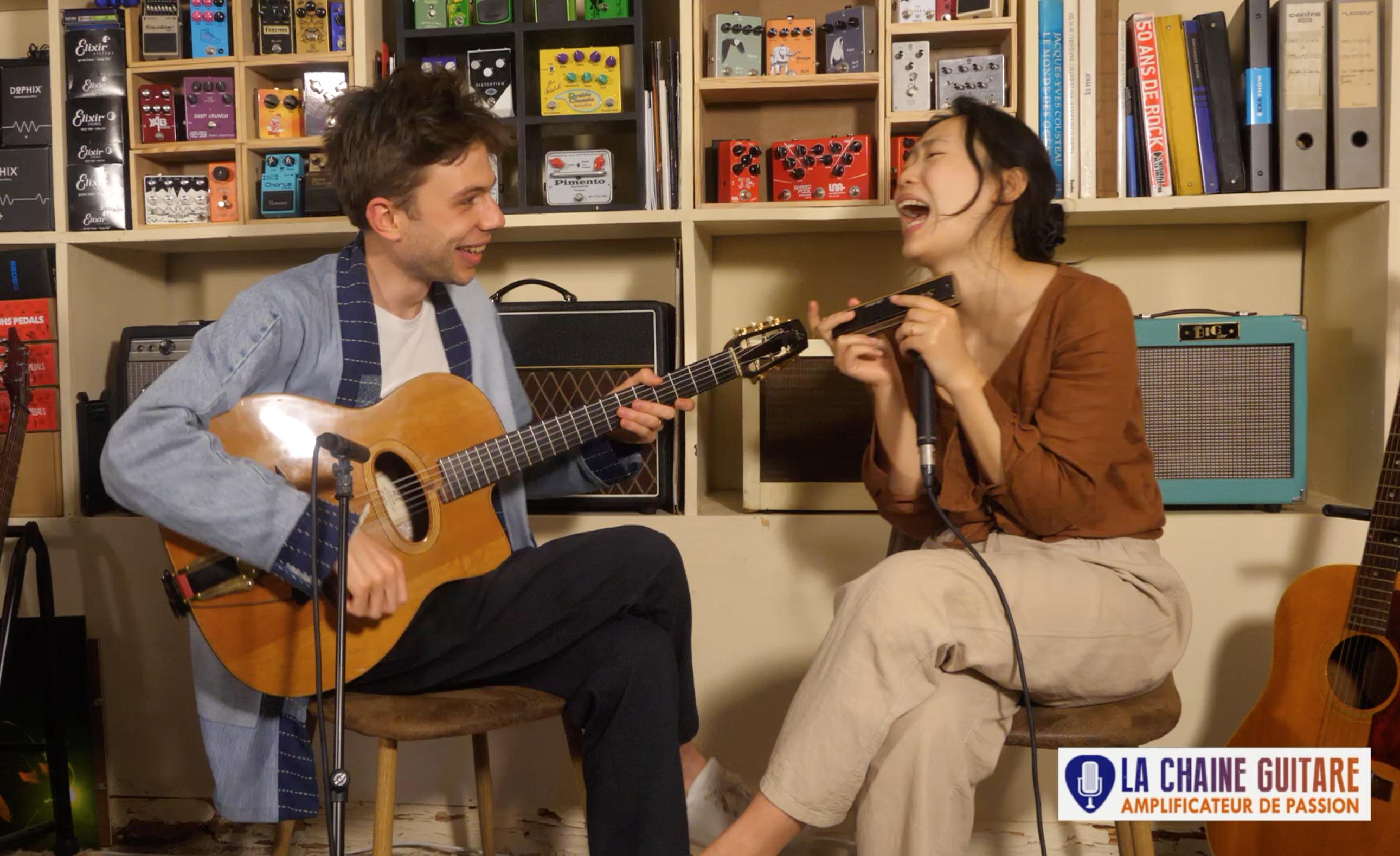Yeore Kim et Antoine Boyer jouent Tangram - Replay concert en direct