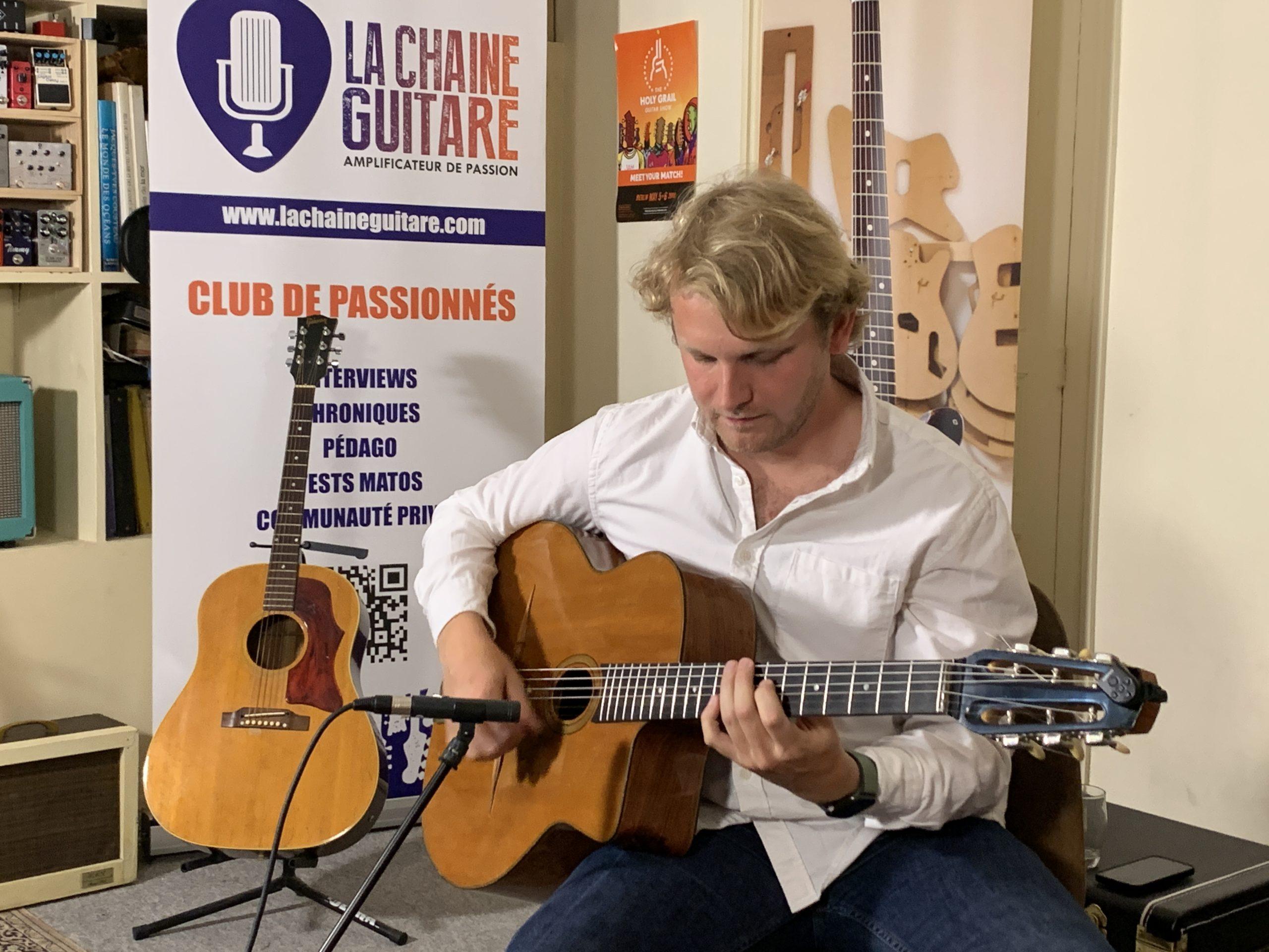 Fanou Torracinta, interview guitare à la main au sujet de son premier album