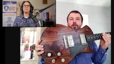 Histoire d'un livre de photo sur les guitares Springer, un projet de Hervé Kolmayer