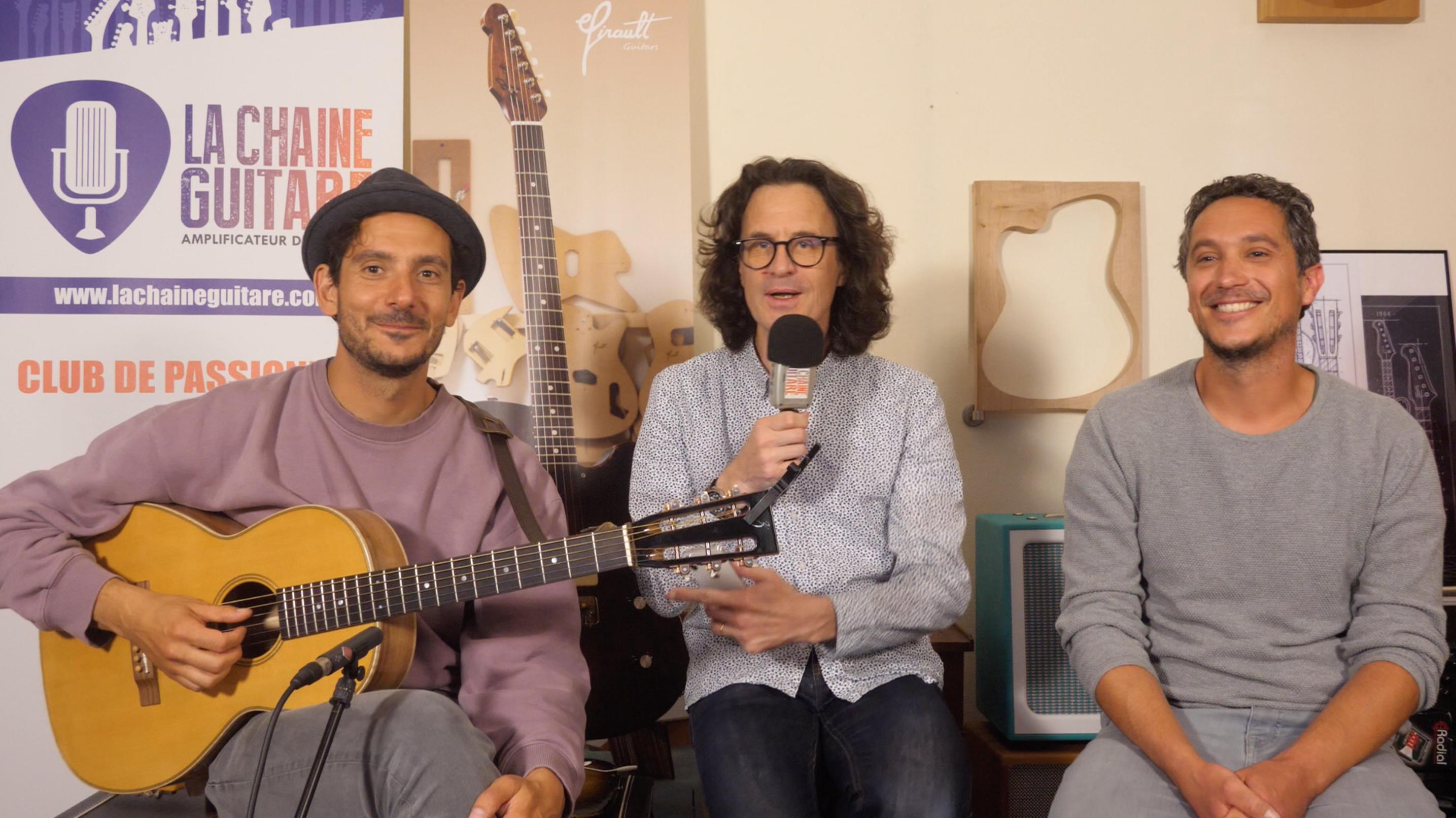 Laurent Lamarca et Sylvain Zbinden, interview un musicien et son luthier