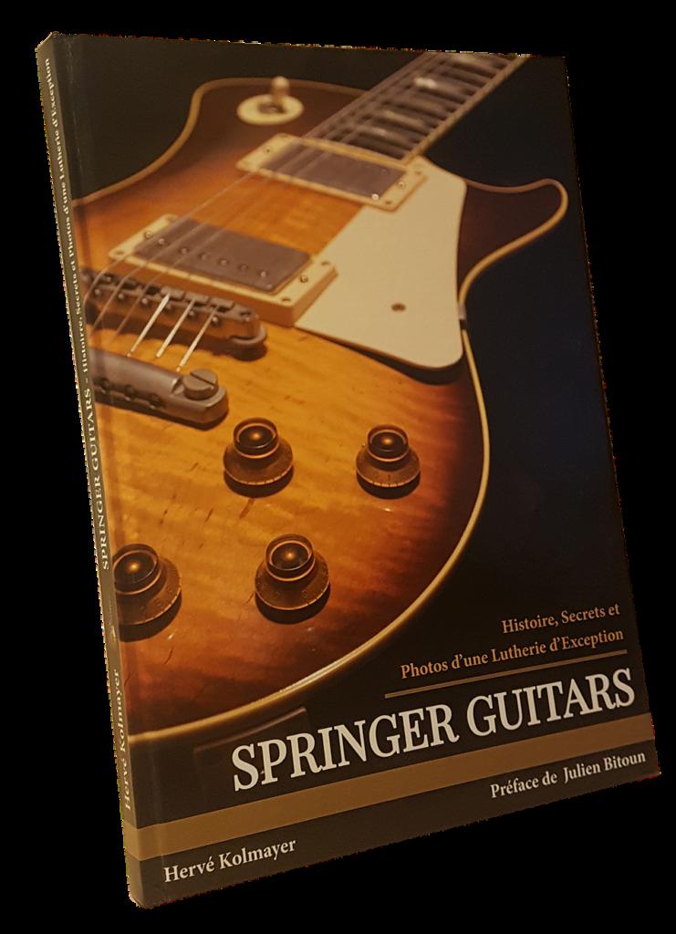 Histoire d'un livre sur les guitares Springer, un projet de Hervé Kolmayer