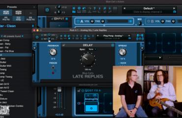 Construire un son de guitare dans Axiom de Blue Cat Audio, émulateur d'ampli et d'effets