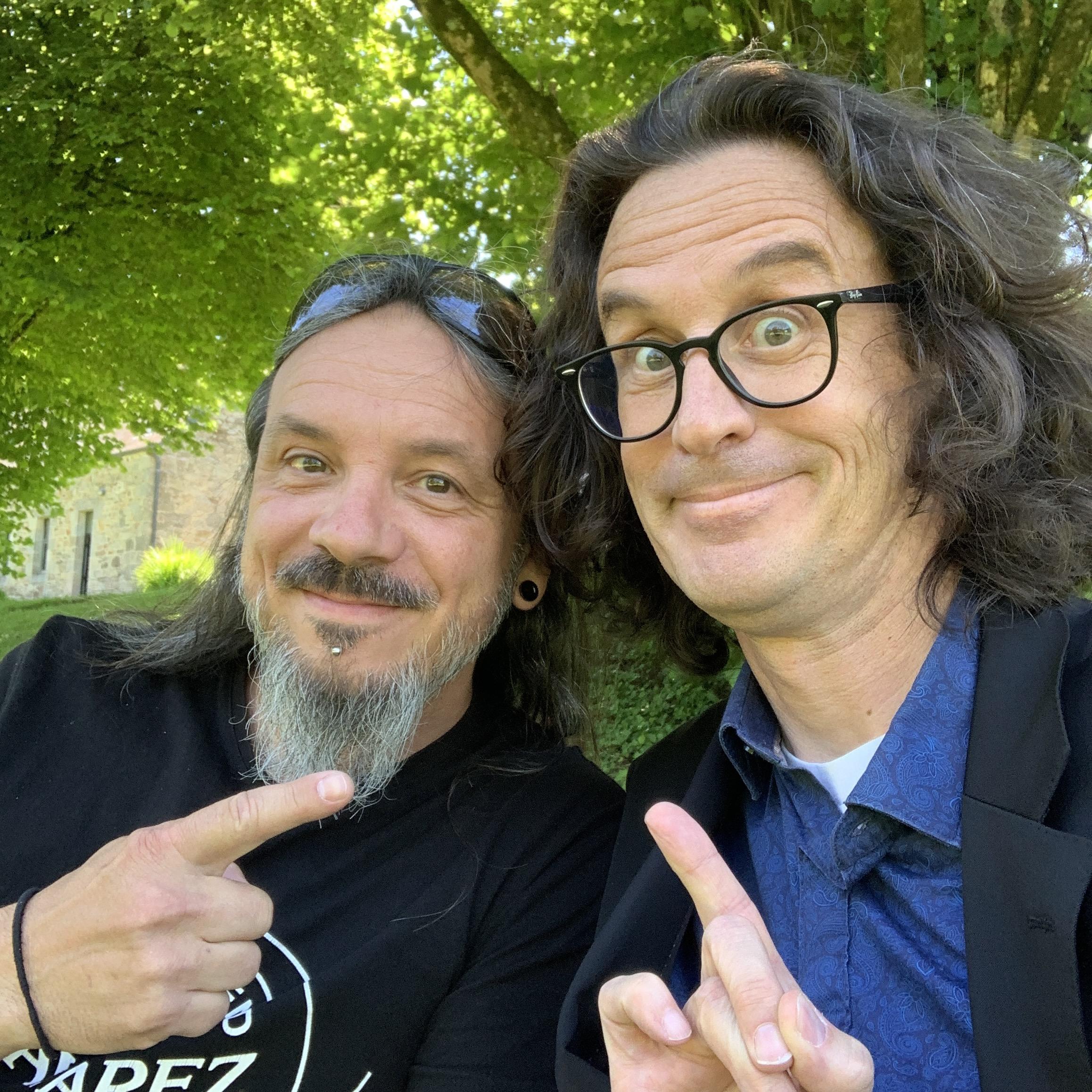 Christophe Babin, interview du bassiste de Pat O'May lors du Guit-Ar-Camp