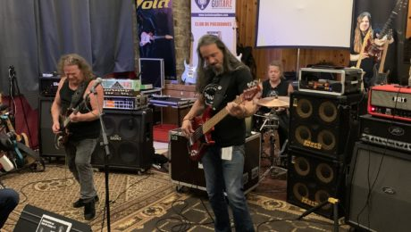 Guit-Ar-Camp 2021, stage guitare Pat O'May, reportage du jour 1