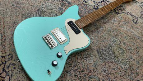 PJD Guitars St-John Standard, une guitare offset anglaise très réussie