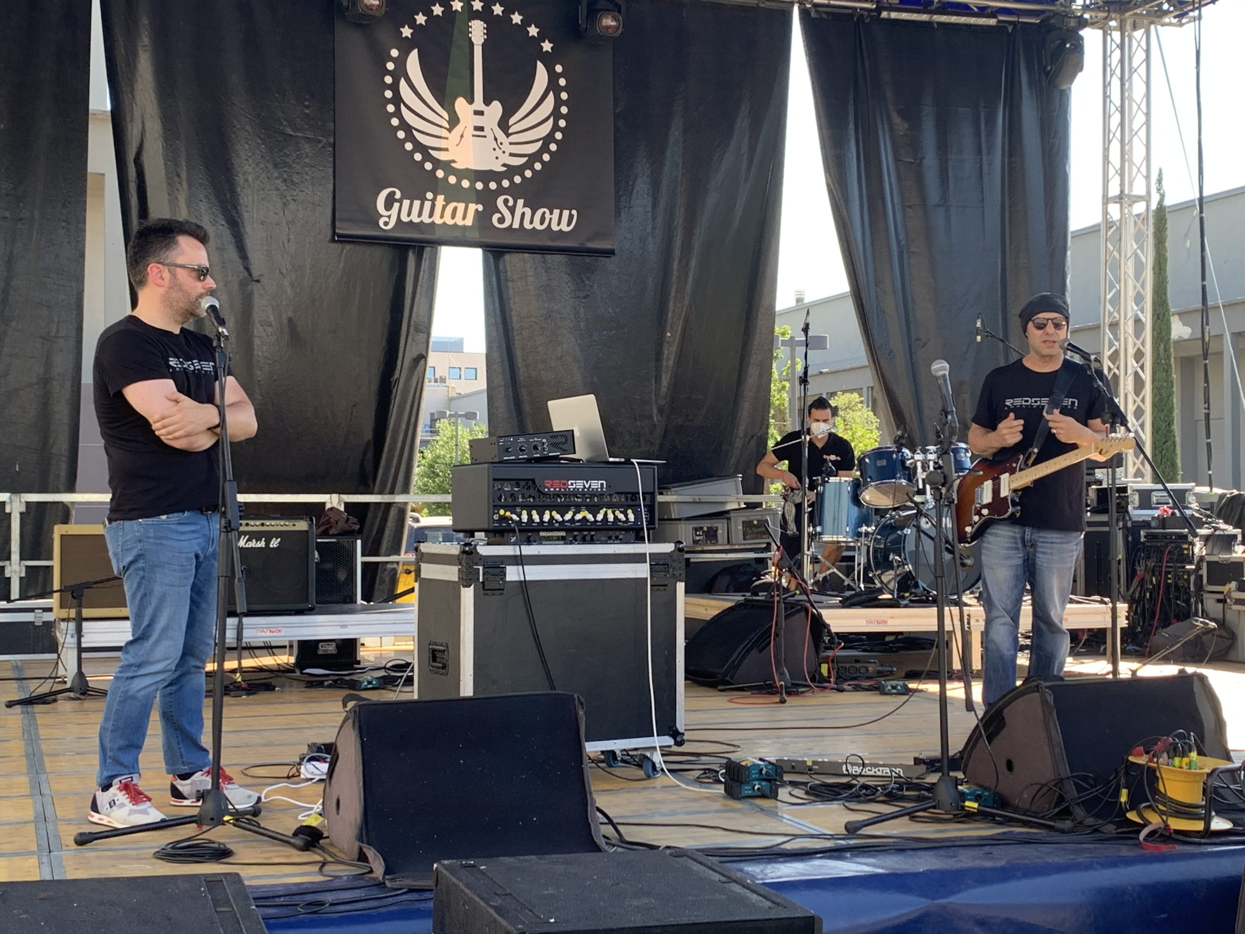 Guitar Show Italie, première journée du salon de la guitare de Padoue