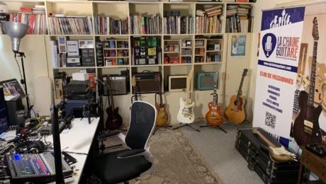 Showroom La Chaîne Guitare - Caverne d'Ali Baba réservée aux abonnés