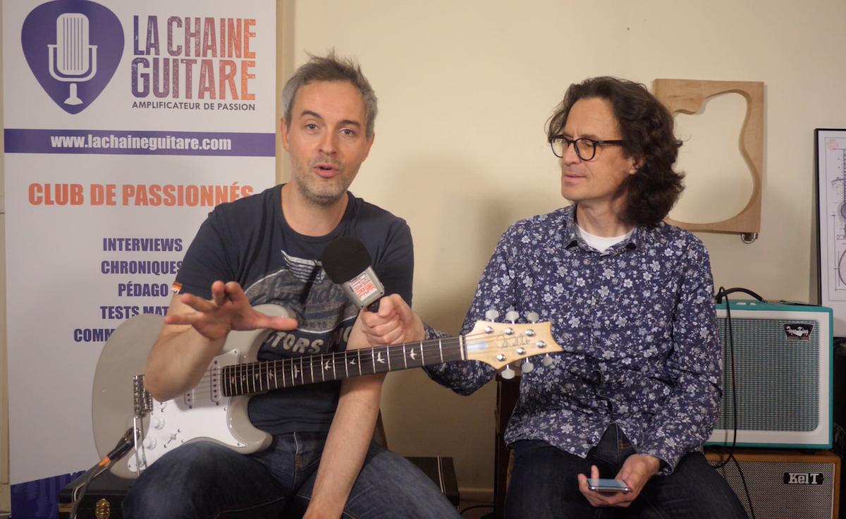 Hugo Martin, super pédagogue de la guitare présente son offre Hugo Stream la Guitare