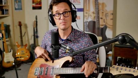 Revue de presse & Actualités guitare - 19/09/21 - Guitare : G1500 Rémi Castillo