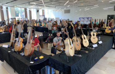 Paris Guitar Festival de Montrouge, reportage dans le salon du 1er jour