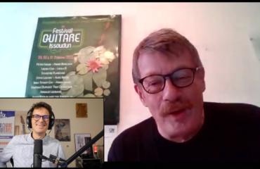Festival Guitare Issoudun 2021, interview Gérard Sadois pour le grand retour !