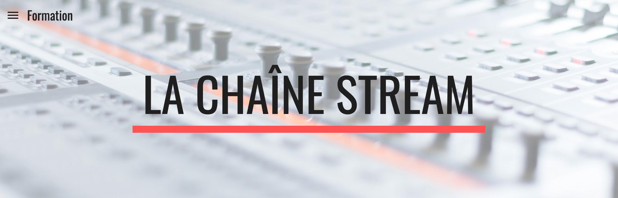 Envie de vous former au streaming ? La Chaîne Guitare lance La Chaîne Stream !
