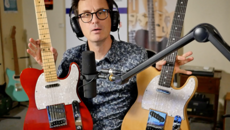 Revue de Presse & Actualités - 03/10/21 - Guitare : modèle T Lebanet en Acajou