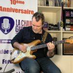 Axel Bauer - Interview - Son approche du matos guitare - Partie 2/2
